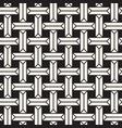set 25 geometric tiling mosai seamless vector image