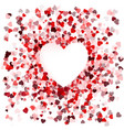 happy valentines day card cover concept vector image