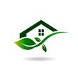 Natural House logo vector image