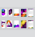 03 booklets src vector image vector image