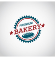 bakery label image vector image vector image