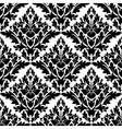 Beautiful floral seamless damask pattern vector image