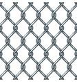 chain link fence seamless pattern vector image