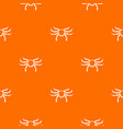 crab sea animal pattern seamless vector image vector image