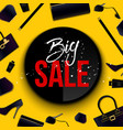 creative of super big sale vector image