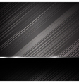 Dark chrome steel abstract background eps10 005 vector image vector image