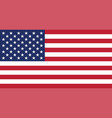 flag united states american vector image