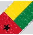 Guinea-Bissau grunge flag vector image vector image