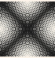 halftone seamless pattern monochrome texture vector image vector image