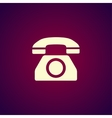 icon of a phone vector image vector image