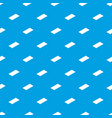 metal panel pattern seamless blue vector image