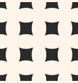 simple geometric seamless pattern with big squares vector image vector image