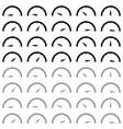 speedometr black and grey colour icon vector image vector image