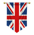united kingdom pennant vector image
