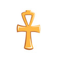 colorful ankh sign ancient vector image