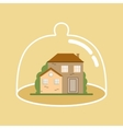 House Under Protection vector image vector image