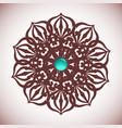 Intricate Rosette vector image