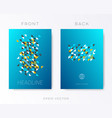 modern brochure design template vector image vector image