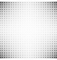 monochrome abstract repeating halftone dot vector image vector image
