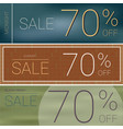 summer sale and black friday sale template banner vector image