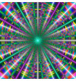 vivid pattern with laser rays vector image