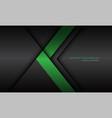 abstract green arrow direction dark grey shadow