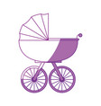Baby carriage icon