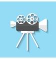 camera web icon vector image vector image
