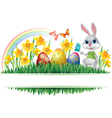Easter horizontal frame