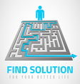 Find solution vector image