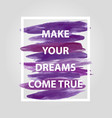 motivational square quote vector image