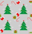 new year christmas winter holidays color seamless vector image