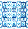 oriental style seamless pattern nine vector image vector image
