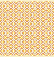 seamless geometric pattern in retro pastel colors vector image