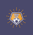soccer sport team isolated emblem vector image vector image