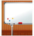 Whiteboard Copyspace Background vector image