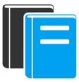 Books Icon vector image vector image