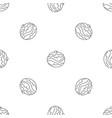 jewish bakery pattern seamless vector image