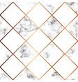 marble texture seamless pattern design with white vector image vector image