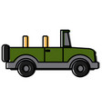 off road sport truck vector image