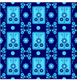 oriental style seamless pattern seven vector image vector image