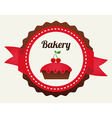 pastry design vector image vector image