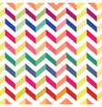 seamless chevron colorful pattern pastel vector image