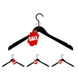 Set of hangers with sale tag vector | Price: 1 Credit (USD $1)
