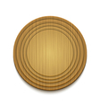 wooden circle background Eps10 vector image