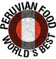 Peruvian food vector image