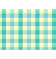 A topview of a checkered table mat vector image vector image