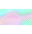 abstract fluid color blend background holographic vector image