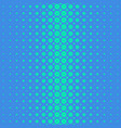 blue geometric halftone dot pattern background vector image vector image