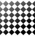 Ceramic tiles black and white chess board seamless vector image